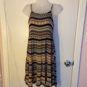 Beach by Exist Size S Summer dress tribal pattern
